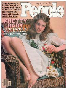 Brooke Shields na capa da revista People, ainda sob o efeito do sucesso do filme