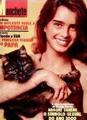 Descobri que essa revista - bem como todas, TODAS, as outras edições da Revista Manchete (Brooke Shields foi capa de mais umas 4) - está disponível na biblioteca da FFLCH-USP. E está muito bem conservada.