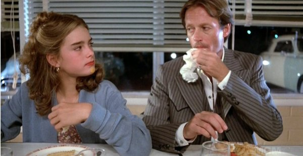 Wanda Nevada (Brooke Shields) e Beaudray Demerille (Peter Fonda)