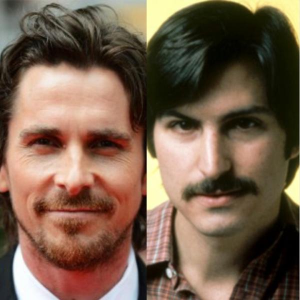 Christian Bale e Steve Jobs