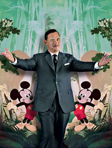 Tom Hanks como Walt Disney.
