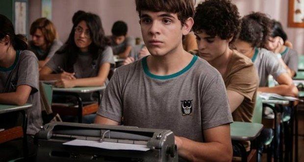 Leonardo e sua máquina de escrever