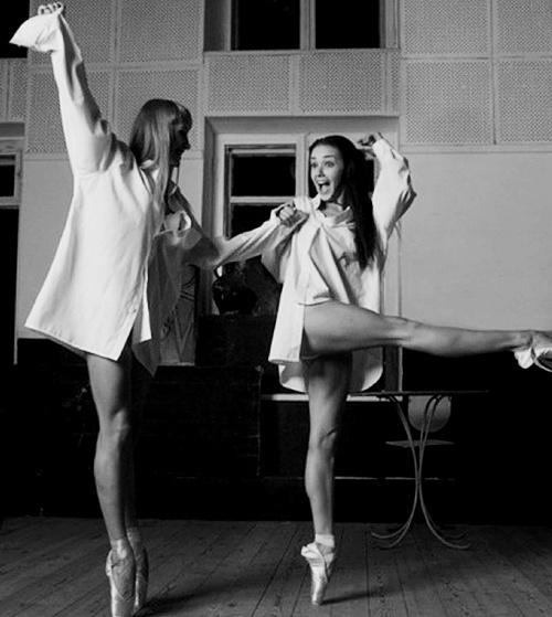Audrey como bailarina