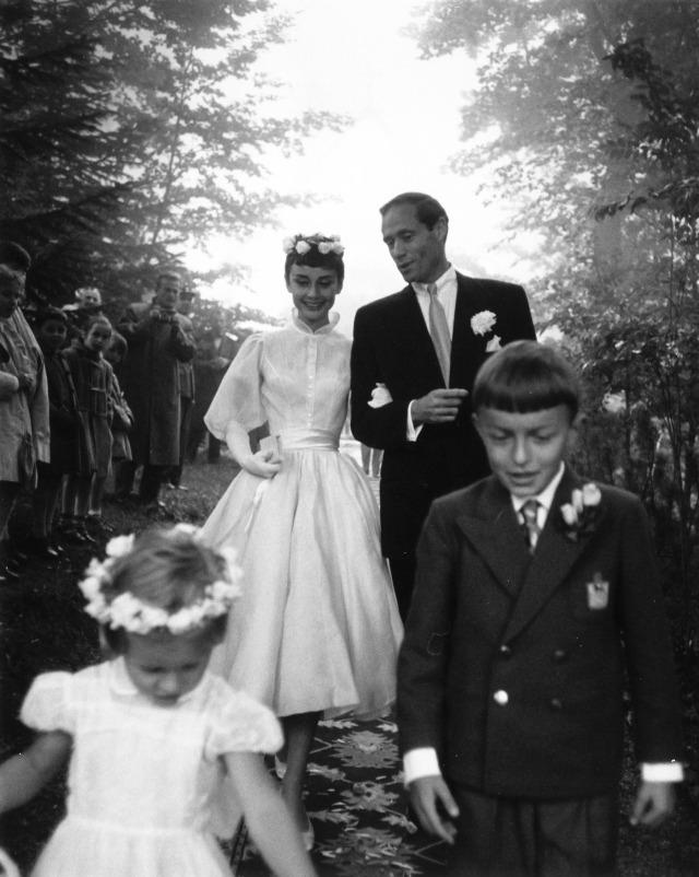 O casamento com Mel Ferrer