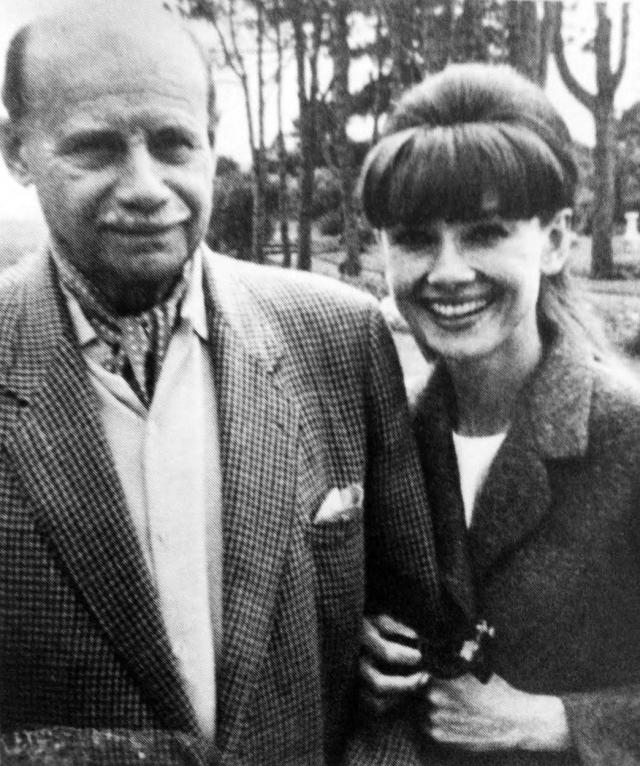 Audrey e o pai