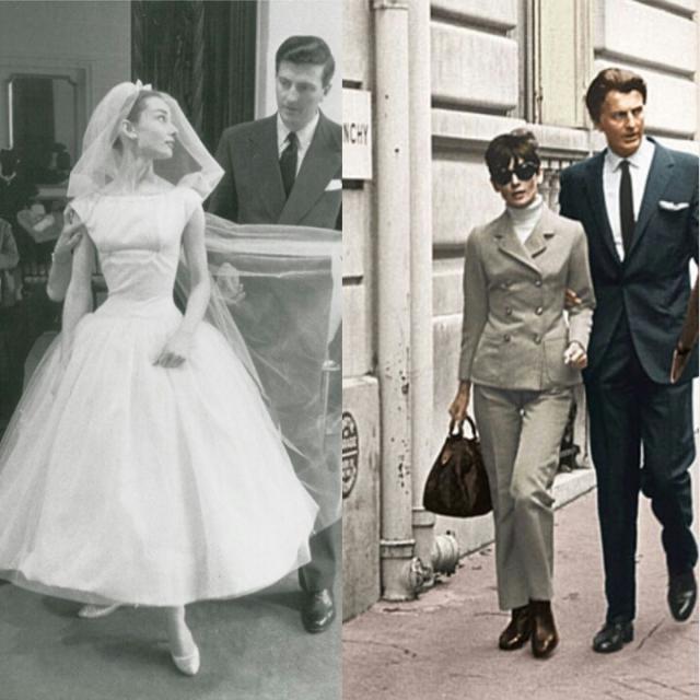 Audrey e Givenchy