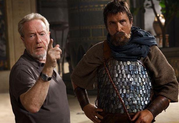 Ridley Scott dirige Christian Bale