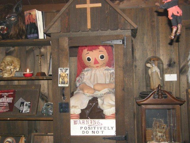 A verdadeira boneca Annabelle