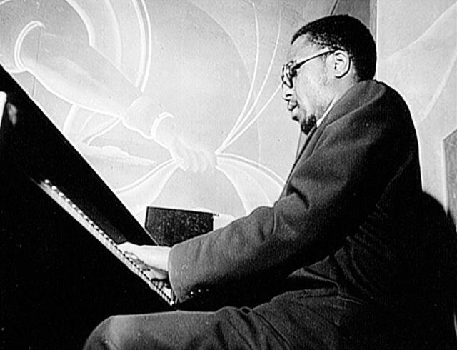 O pianista Thelonious Monk