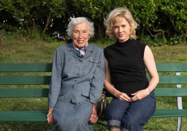 Amy Adams e a verdadeira Margaret Keane