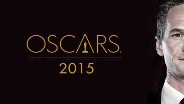 Neil Patrick Harris no cartaz do Oscar 2015.