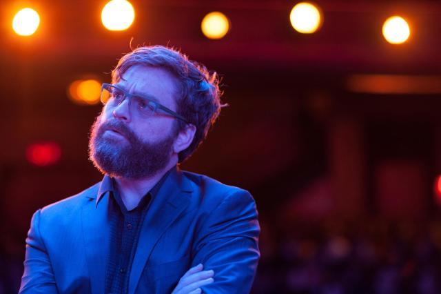 Zach Galifianakis foi o que teve menos problemas para lidar com o estilo insano de gravação de Alejandro González Iñárritu