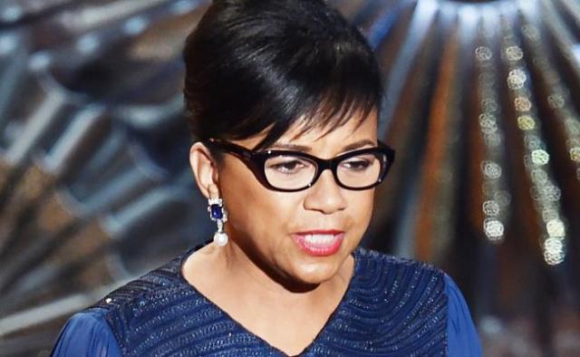 Cheryl Boone Isaacs, presidenta da Academia.