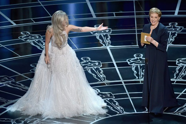 Lady Gaga e Julie Andrews